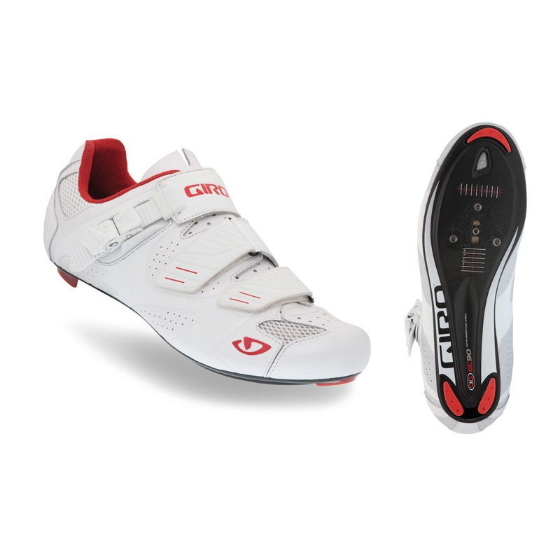 GIRO FACTOR ROAD SHOE WHITE 48