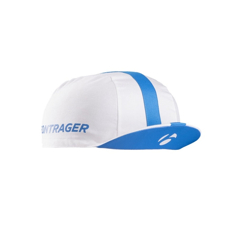 BONTRAGER CYCLING CAP WHITE / BLUE ONE SIZE
