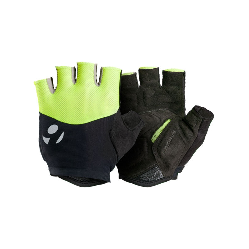 BONTRAGER HALO GEL GLOVE MENS VISIBILITY YELLOW SMALL