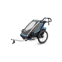 Image: CHARIOT/THULE SPORT 1 CHILD TRAILER 10201001AU BLUE / BLACK