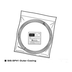 Image: SHIMANO GEAR OUTER CABLE OT-SP41 2000MM BLACK
