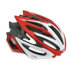 Image: BELL VOLT HELMET RED / WHITE SMALL