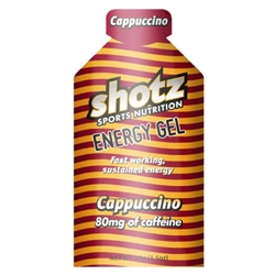 Image: SHOTZ ENERGY GEL CAPPUCCINO