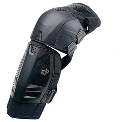 Image: FOX HEAD LAUNCH SHORTY KNEE PADS BLACK ONE SIZE