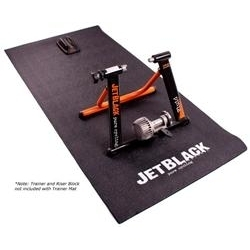 Image: JET BLACK TRAINER MAT