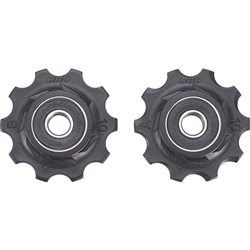 Image: BBB ROLLER BOYS JOCKEY WHEELS 10T SEALED BDP-01 BLACK