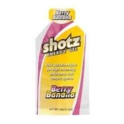 Image: SHOTZ ENERGY GEL BERRY BANANA