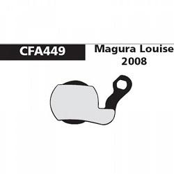 Image: EBC DISC BRAKE PADS CFA449 GREEN