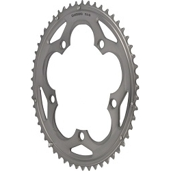 Image: SHIMANO 105 FC-5700 B-TYPE CHAINRING SILVER