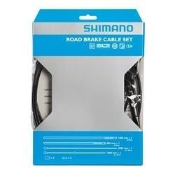Image: SHIMANO ROAD BRAKE BRAKE CABLE SET SIL-TEC COATED