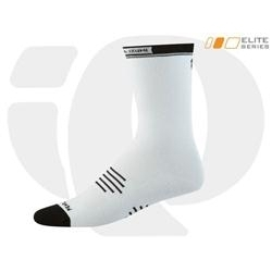 Image: PEARL IZUMI ELITE TALL SOCKS WHITE SMALL (35-38 EU)