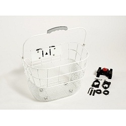 Image: GENERIC BASKET FRONT WIRE Q/R WHITE