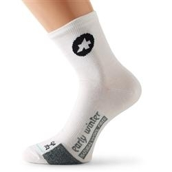 Image: ASSOS EARLY WINTER SOCKS WHITE 0 (35-38)