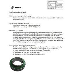Image: TREK BB90-BB95 BEARING SRAM V2 37.1 X 21 X 8 OVERSIZED