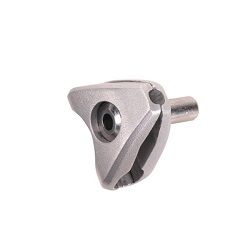 Image: BONTRAGER SADDLE CLAMP EARS SUIT 7 X 9MM SILVER