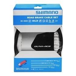 Image: SHIMANO BR-9000 ROAD BRAKE CABLE SET POLYMER COATED