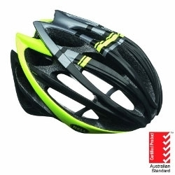 Image: BELL GAGE HELMET BLACK / HI-VIS YELLOW SMALL