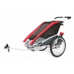 Image: THULE COUGAR TRAILER 2 CHILD RED