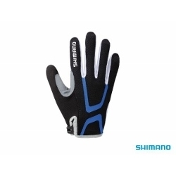 Image: SHIMANO LIGHT W'S LONG FINGERED LADIES GLOVES BLACK XLARGE