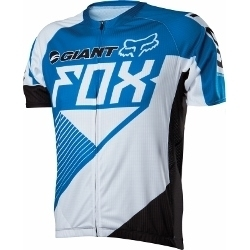 Image: FOX HEAD GIANT LIVEWIRE 2014 JERSEY BLUE / WHITE MEDIUM
