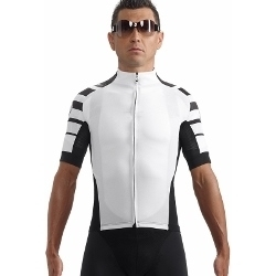 Image: ASSOS SS CENTO JERSEY WHITE PANTHER SMALL