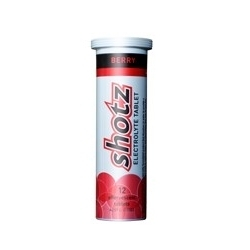 Image: SHOTZ ELECTROLYTE TABLETS 12PACK BERRY