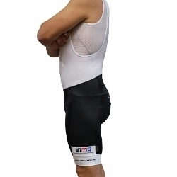 Image: NALINI BIB KNICKS TBE V3 RETRO BLACK / WHITE 1-XS