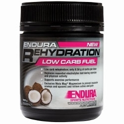 Image: ENDURA NUTRITION REHYDRATION LOW CARB FUEL 122G