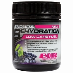 Image: ENDURA NUTRITION REHYDRATION LOW CARB FUEL 128G