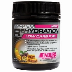 Image: ENDURA NUTRITION REHYDRATION LOW CARB FUEL 135G