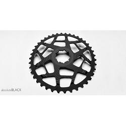 Image: ABSOLUTE BLACK  ABSOLUTE BLACK CASSETTE COG 40T BLACK