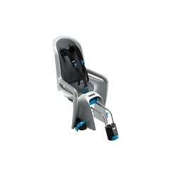 Image: THULE RIDEALONG CHILD BIKE SEAT LIGHT GREY
