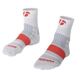 Image: BONTRAGER RXL 2.5 SOCKS 2 PACK DEAL WHITE SMALL (36-39 EU)