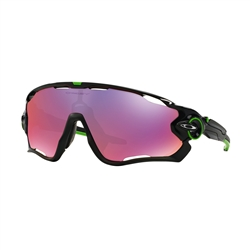 Image: OAKLEY JAWBREAKER CAVENDISH POLISHED BLACK - PRIZM ROAD