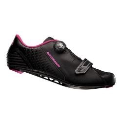 Image: BONTRAGER ANARA LADIES SHOE BLACK / PINK 38