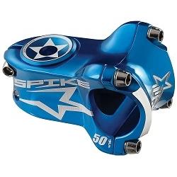 Image: SPANK SPIKE RACE STEM BLUE