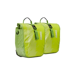 Image: THULE SHIELD PANNIER SMALL 100067 CHARTREUSE