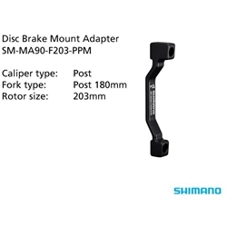 Image: SHIMANO SM-MA90-F203-PP DISC MOUNT ADAPTOR