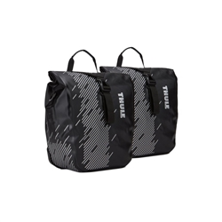 Image: THULE SHIELD PANNIER SMALL 100075 BLACK