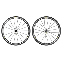 Image: MAVIC KSYRIUM ELITE WHEELSET BLACK