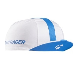 Image: BONTRAGER CYCLING CAP WHITE / BLUE ONE SIZE