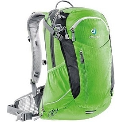 Image: DEUTER CROSS AIR EXP 20 BACKPACK SPRING GREEN / BLACK
