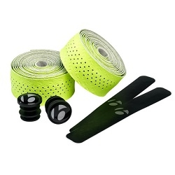 Image: BONTRAGER MICROFIBER BAR TAPE HI-VIS YELLOW