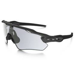 Image: OAKLEY RADAR EV PATH STEEL - CLEAR BLACK PHOTOCHROMATIC