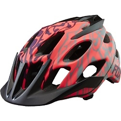 Image: FOX HEAD FLUX LADIES HELMET PLUM PURPLE XL/XXL