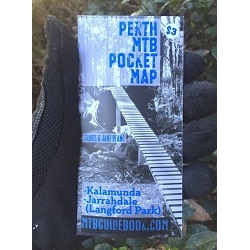 Image: MISCELLANEOUS MTB TRAIL GUIDE PERTH POCKET MAP