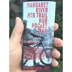 Image: MISCELLANEOUS MTB TRAIL GUIDE MARGARET RIVER POCKET MAP