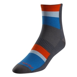Image: PEARL IZUMI ELITE SOCKS LONG STRIPE BLUE LARGE (41-44 EU)