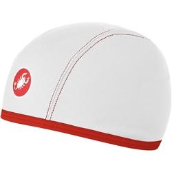 Image: CASTELLI THERMO SKULLY WHITE UNIVERSAL