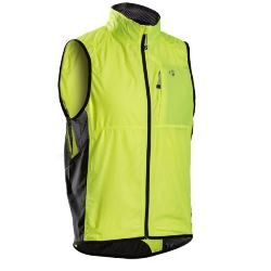 Image: BONTRAGER RACE WINDSHELL VEST MENS VISIBILITY YELLOW SMALL